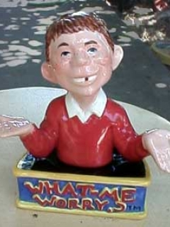 Go to Salt & Pepper Shakers Alfred E. Neuman • USA