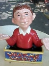 Image of Salt & Pepper Shakers Alfred E. Neuman