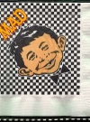 Image of Cocktail Napkins with Alfred face and MAD logo