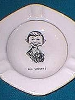 Go to Ashtray with Pre-MAD Alfred E. Neuman face (West Virginia)) • USA