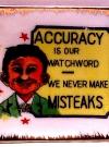 "Image of Alfred E. Neuman / ""We Never Make Misteaks"" Ashtray"
