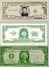 Image of Money Bills with Alfred E.Neuman face