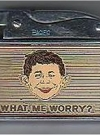 Image of Lighter 'What Me Worry' with Alfred E.Neuman face