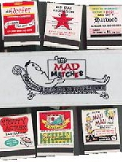 Go to Matchbook Cover 'MAD Matches' with MAD like logo • USA