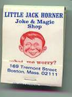 Go to Matchbook Cover 'Little Jack Horner' • USA