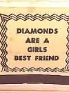 Image of Matchbook Cover Naughty #5 'Diamonds are girl's best friend'