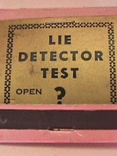 Go to Matchbook Cover Naughty #6 'Lie Detector Test' • USA