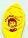 Image of Balloon 'MAD - What Me Worry?', yellow