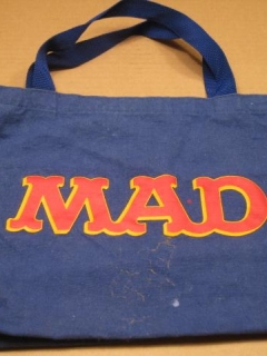 Go to Tote Bag MAD Magazine Office Premium (Blue Version) • USA