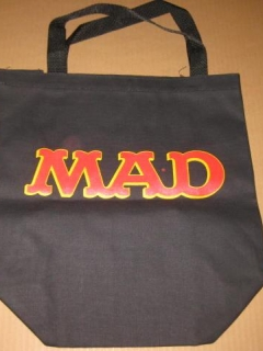 Go to Tote Bag MAD Magazine Office Premium (Black Version) • USA