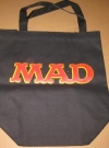Image of Tote Bag MAD Magazine Office Premium (Black Version)