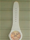 Image of Wrist Watch with Alfred E. Neuman face, white