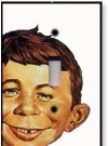 Image of Switch Plate with Alfred E. Neuman Head