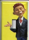 Image of Switch Plate with Alfred E. Neuman figure picture