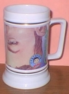 Image of Beer Stein Alfred E. Neuman Closeup