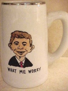 Go to Beer Stein with Pre-MAD Alfred E. Neuman • USA