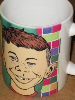Go to Alfred E. Neuman Coffee Mug 1996 XPRES • USA
