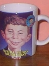 Image of Coffee Mug 'Alfred E. Neuman for President' (Certified MAD)