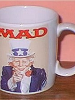 Go to Coffee Mug (Applause) 'Alfred E. Neuman as Uncle Sam' • USA
