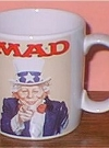 Image of Coffee Mug (Applause) 'Alfred E. Neuman as Uncle Sam'