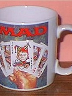 Go to Coffee Mug (Applause) 'Alfred E. Neuman Cards' • USA