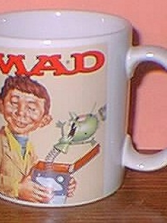 Go to Coffee Mug (Applause) 'Alfred E. Neuman Puzzled' • USA