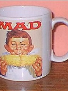 Go to Coffee Mug (Applause) 'Alfred E. Neuman eats Corn' • USA