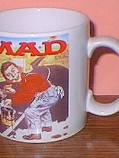 Go to Coffee Mug (Applause) 'Alfred E. Neuman paints the Highway' • USA