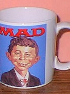 Go to Coffee Mug (Applause) 'Plain Alfred E. Neuman' • USA