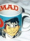 Image of Coffee Mug with Alfred E. Neuman as biker