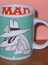 Coffee Mug with Spy and MAD logo #1