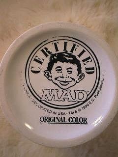 Coffee Mug Prototype Plain 'Certified MAD' • USA