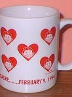 Go to Coffee Mug Valentine's Massacre Mug • USA