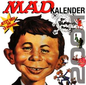 2001 Calendar MAD Magazine • Germany