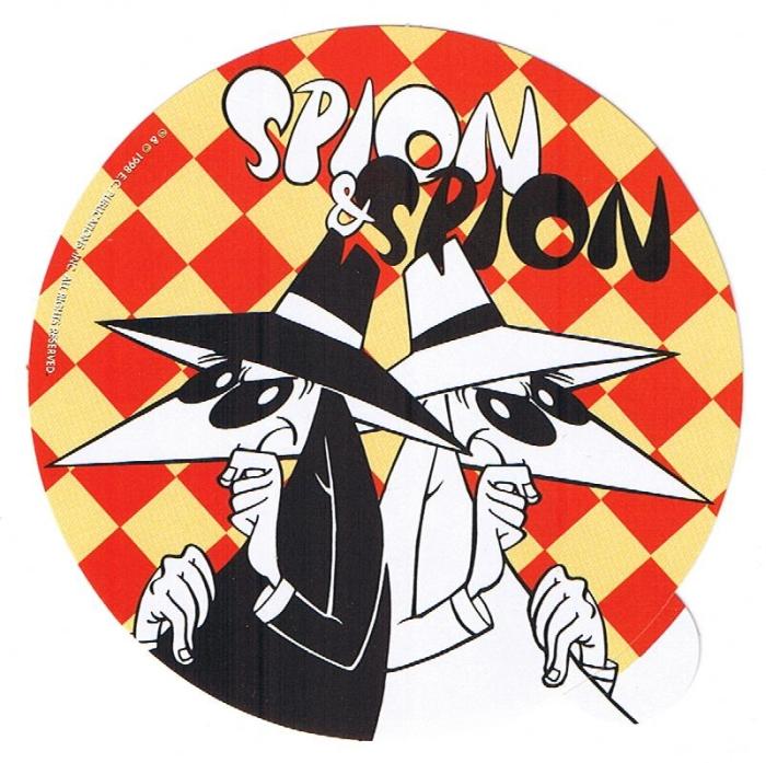 Spy vs. Spy Sticker • Germany