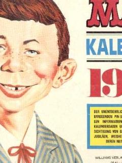 1977 Calendar MAD Magazine
