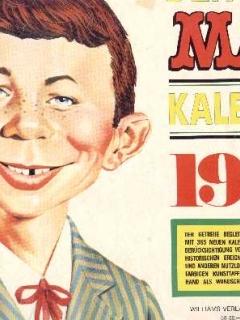 Go to 1978 Calendar MAD Magazine • Germany