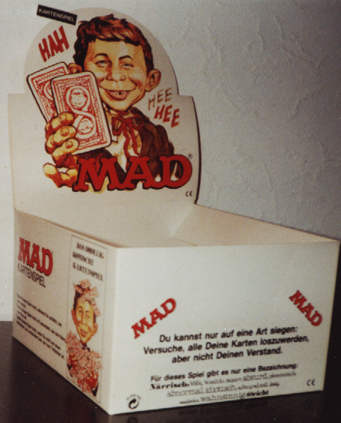 Card Game MAD Magazine Selling Box • Germany