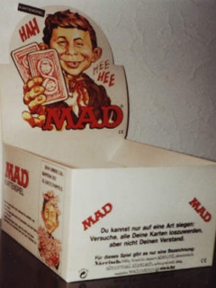 Go to Card Game MAD Magazine Selling Box • Germany