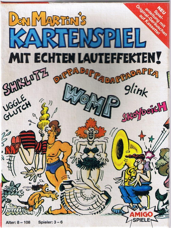 Card Game Don Martin • Germany