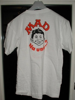 "Go to MAD Magazine - Original ""Na Und....?"" T-Shirt • Germany"