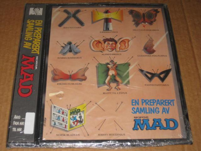 Binder - Sealed w/ Norsk MAD 1990/1 Issue • Norway