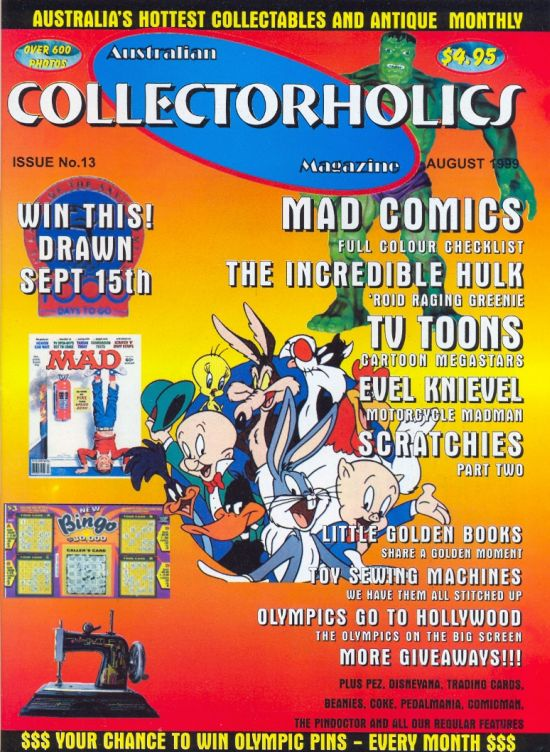 Australian Collectorholics Issue #13 • Australia