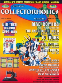 Go to Australian Collectorholics Issue #13 • Australia