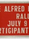 Image of MG Rally Badge 1960 Berkeley Monkey Alfred E. Neuman