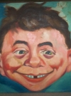 Thumbnail of Painting of Alfred E. Neuman from 1960