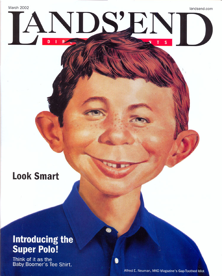 Lands' End Catalog • USA