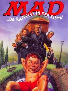 Go to Postcard Promotional: MAD...da rappelts in der Kiste!