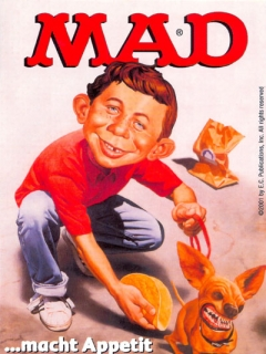 Go to Postcard Promotional: MAD...macht Appetit auf mehr! • Germany