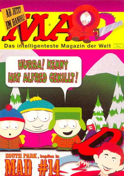 Postcard Promotional: MAD #014 • Germany